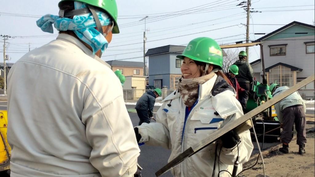 女性の現場監督 岩渕安寿子さん