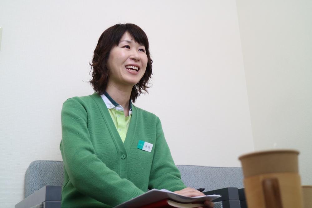 人事部の吉田亜己さん