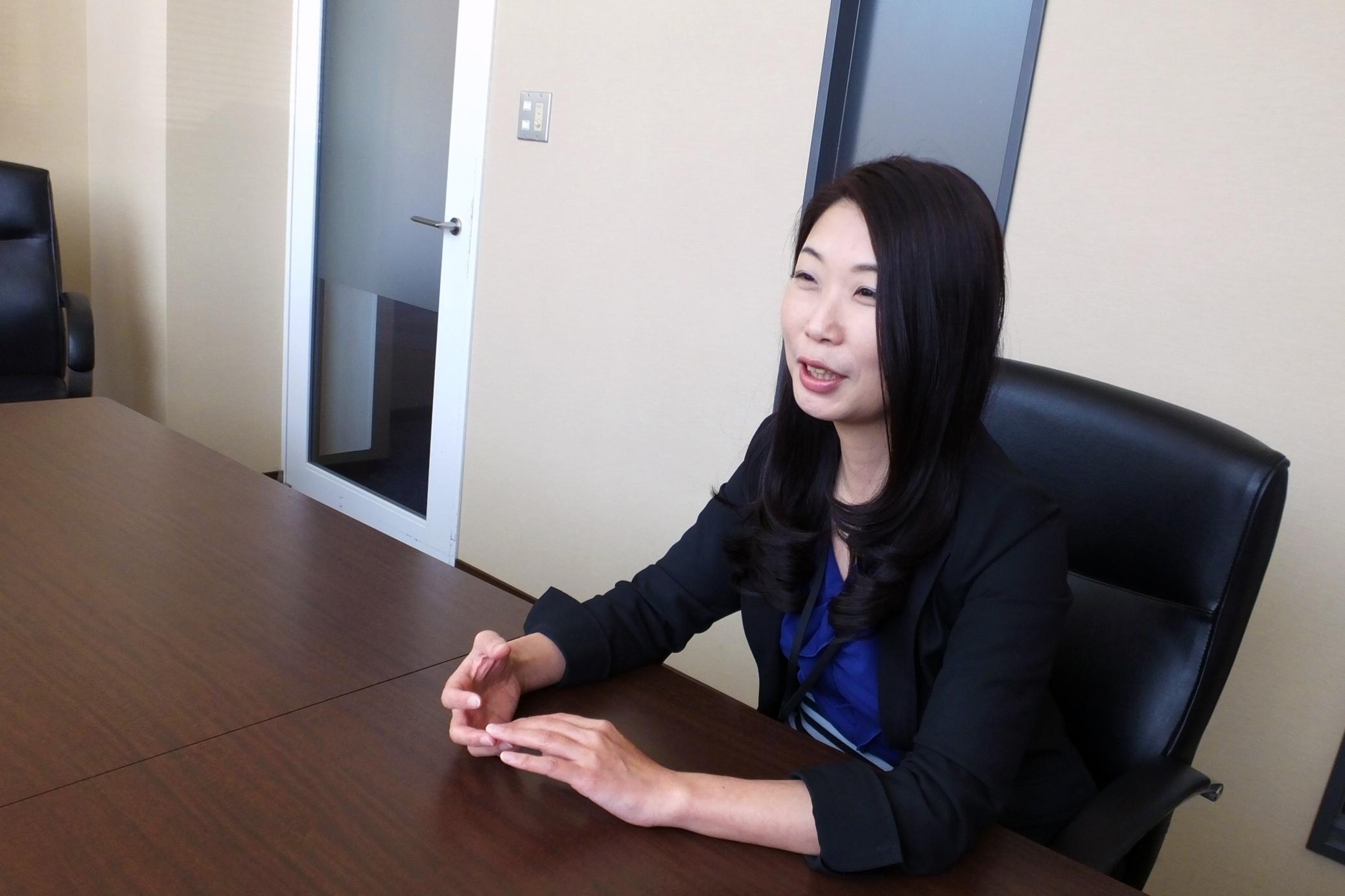 管理部長の高島由美さん