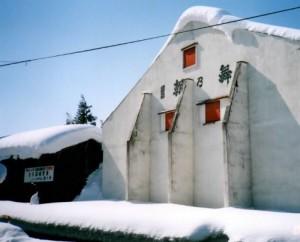 舞鶴酒造の冬の様子