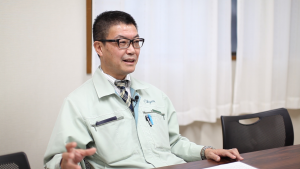技術本部長の藤井さん