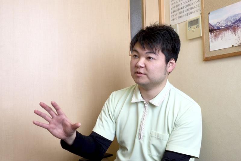 医療法人秋田愛心会 介護福祉士 川村慎さん(三種町)