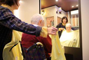福祉理容店「幸のとり」村田薫さん