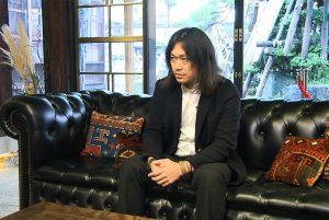 高橋泰さんインタビュー風景