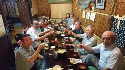 秋田県人会で苫小牧港まつりの慰労会を開催