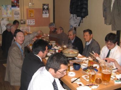 札幌で北鷹会と伊勢堂会、合同忘年会