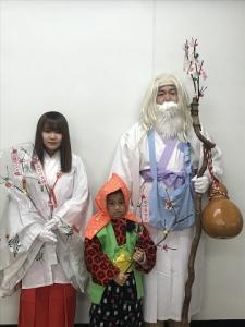 白ひげ大神が来庁しました!!