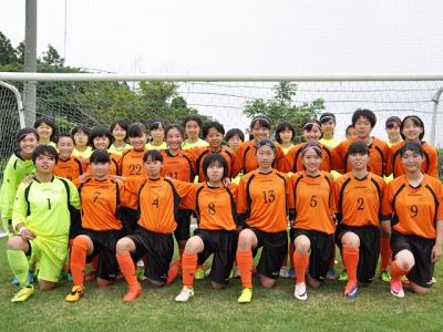 秋田LFC女子サッカー応援