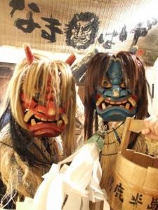 仙台の駅前で秋田を叫ぶ新年会in仙台市