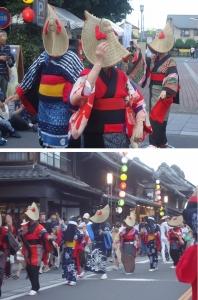 川越で西馬音内盆踊りを披露(首都圏交流推進員だより)