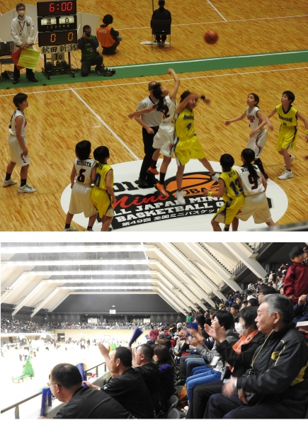 全国ミニバスケット大会が開催されました(首都圏交流推進員だより)