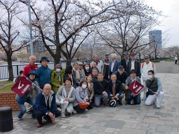 「平成最後」の観桜会 開催