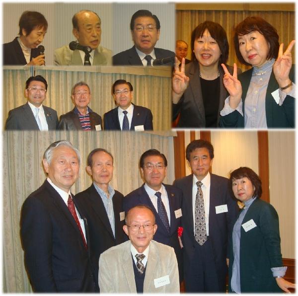 老松市長と語る会に出席