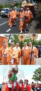 日枝神社神幸祭に参加しました!