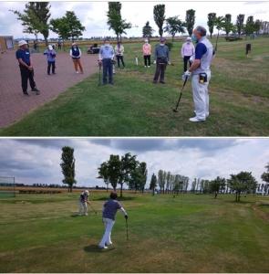 パークゴルフ大会を開催しました!