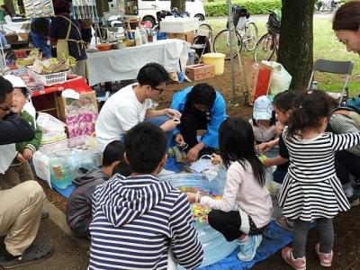 小金井公園こどもフェスタ2016に参加しました!