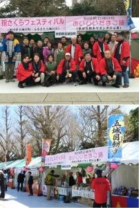 千代田のさくらまつりフェスティバルに参加します!