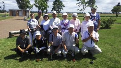 第2回パークゴルフ大会開催