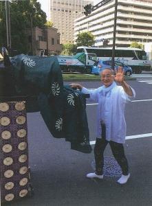 日枝神社神幸祭に参加