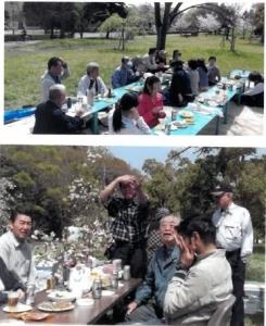 「しだれ櫻」見物会