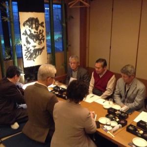 花栄会役員会開催しました。