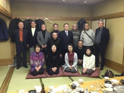 本荘高校同窓会関西支部新年会を開催しました
