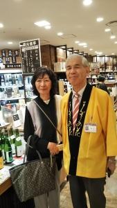 大阪阪急百貨店で秋田のお酒発見!